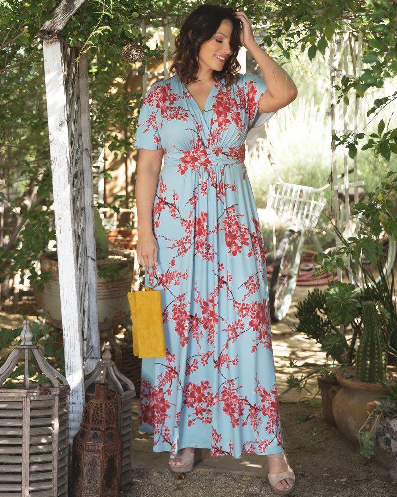 Vienna Maxi Dress in 2020 | Kleider, Plus size kleidung ...