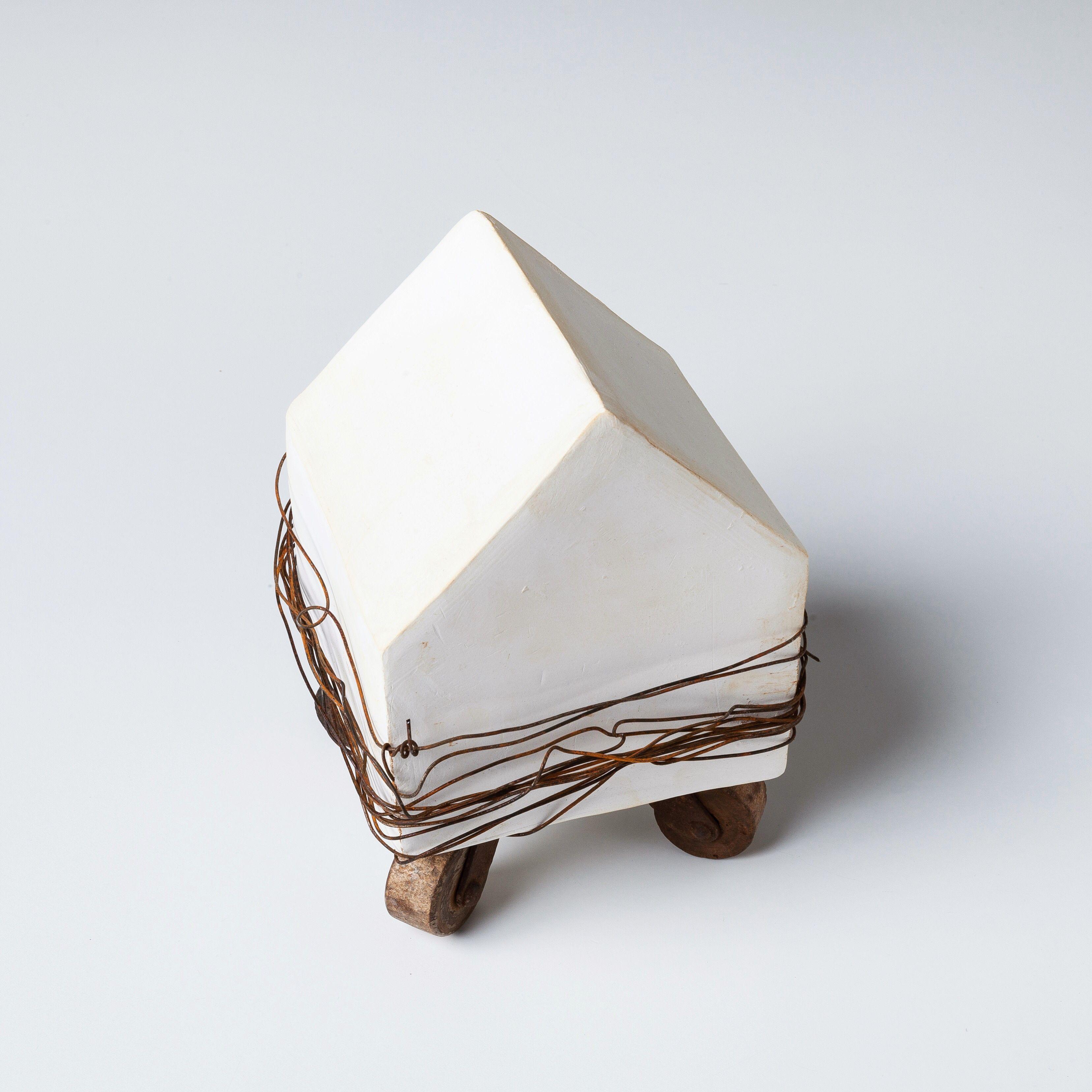 """Closed"" - assemblage by Jennifer Bedenbaugh, Crave Studio"