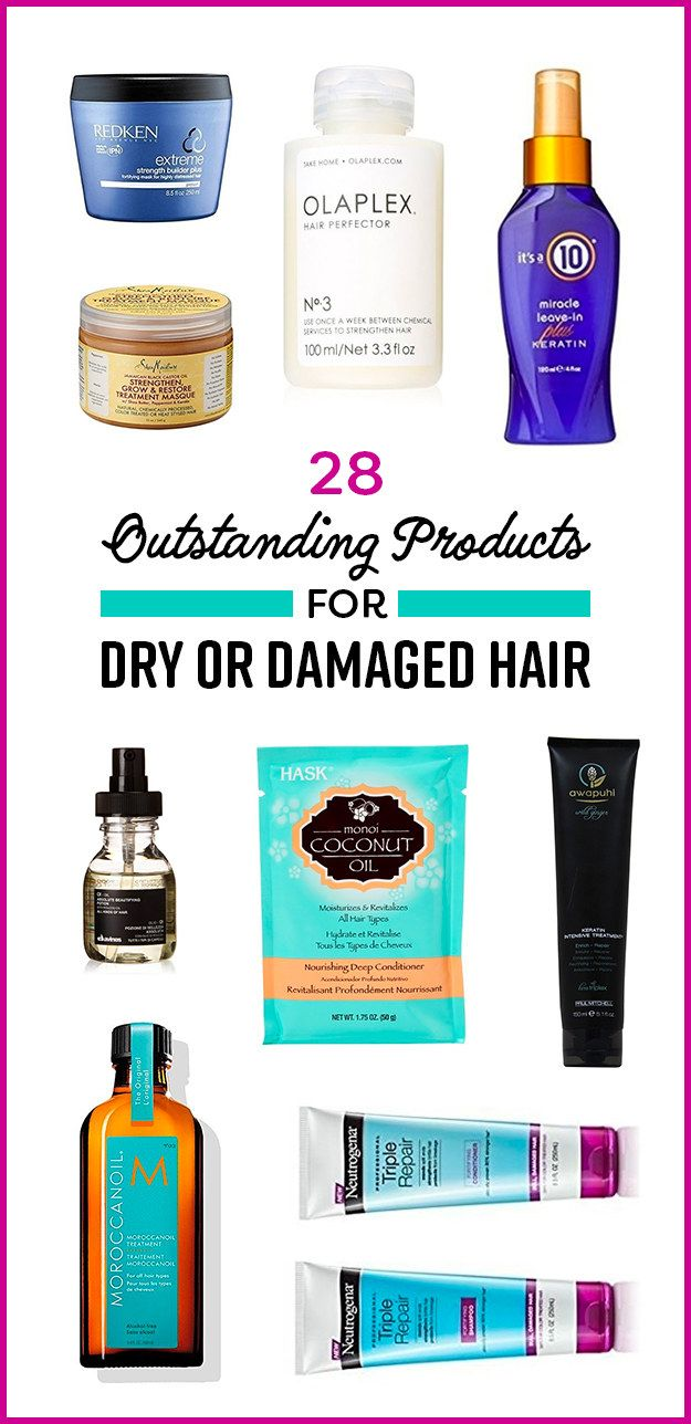 24 Miracle Products That May Save Your Dry Or Damaged Hair Damaged Hair Damaged Curly Hair Hair Frizz