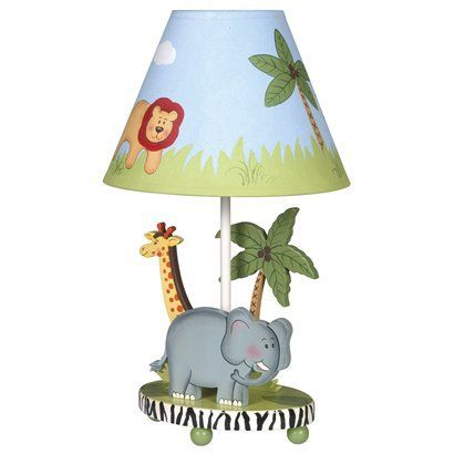 Captivating Guidecraft Safari Table Lamp : Target