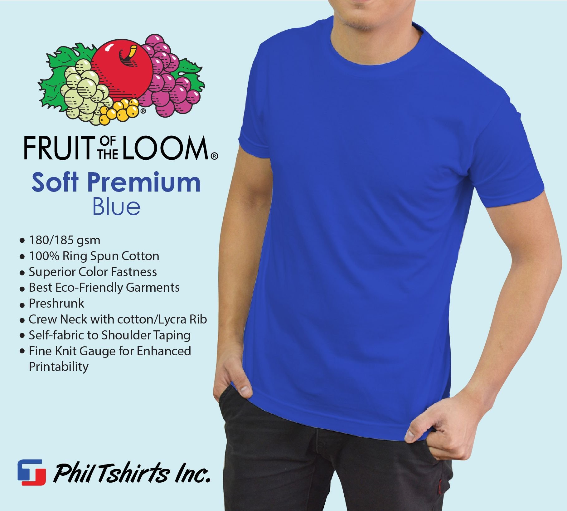 Phil TShirts Inc  is an authorized distributor of Fruit of