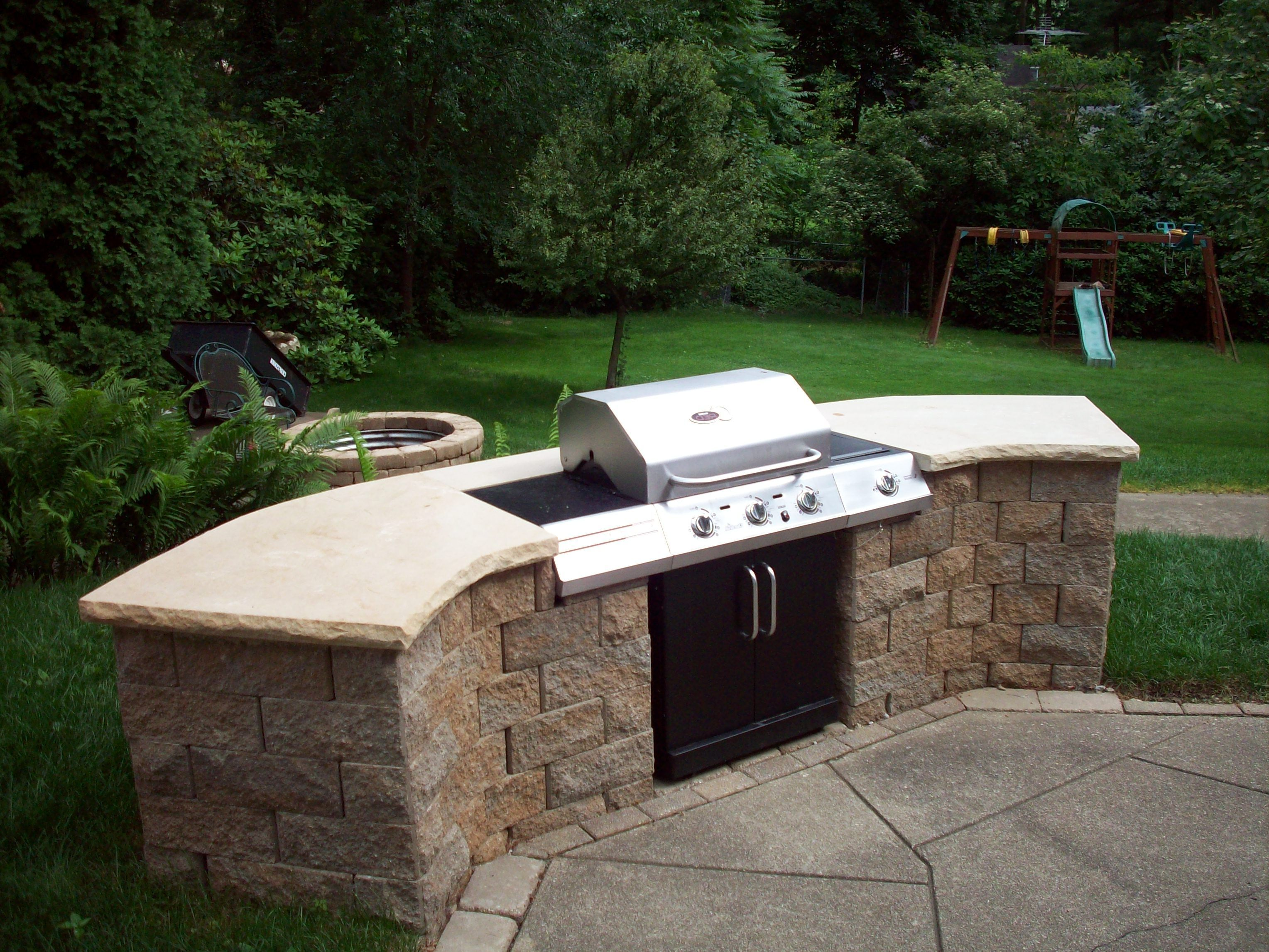 good looking outdoor barbecue design idea outdoor inspiration