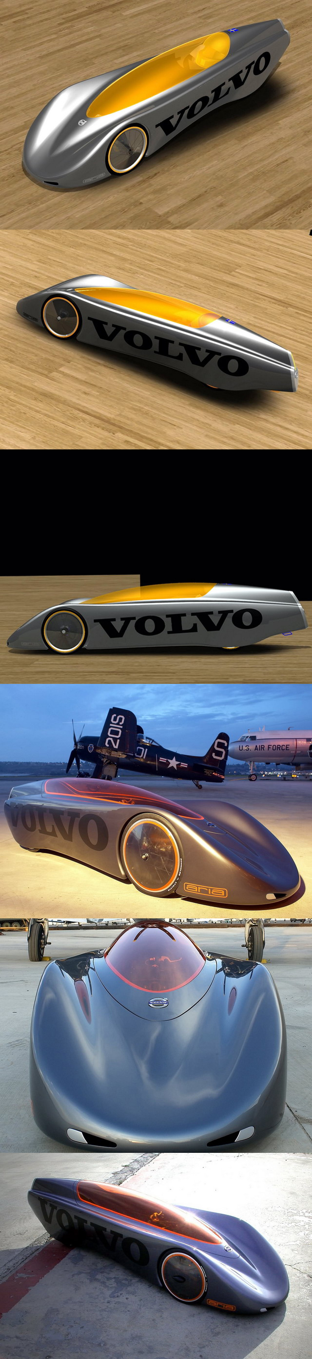 Volvo extreme gravity car concept 2005 from http www conceptcar