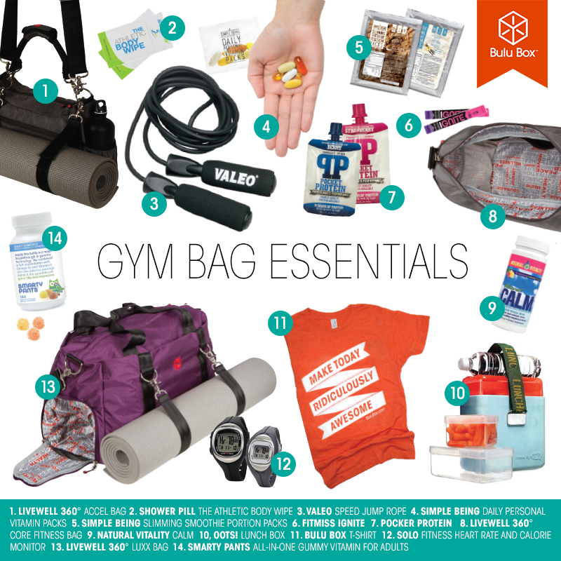 Gym Bag Essentials Buzzfeed: Health And Fitness
