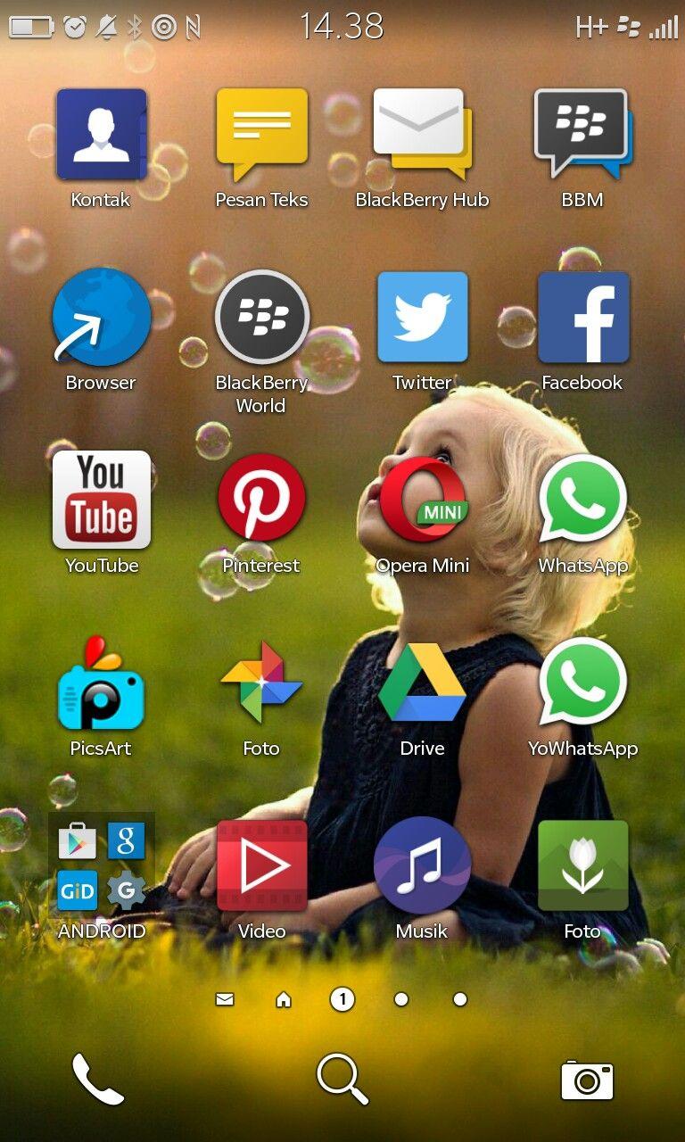 My Menu BlackBerry Z10 | blackberry | Android video