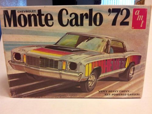 Amt 72 Monte Carlo Box Art Model Cars Kits Plastic Model Cars