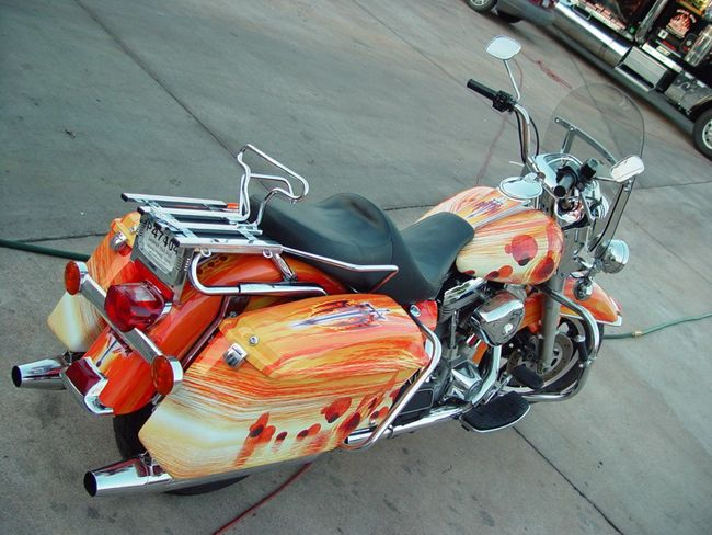Baggers Motorcycle Graphics Wraps Vinyl Motorcycle Graphic - Vinyl for motorcycle