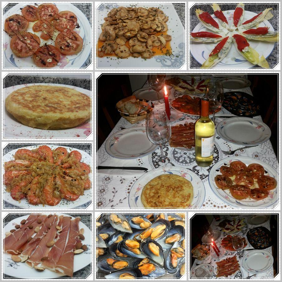 Una cena para amigos