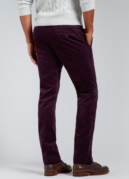 Milanese Cords - Purple | Bonobos Purple Premium Italian Corduroy ...