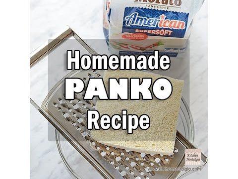 Homemade Panko Breadcrumbs | Kitchen Nostalgia