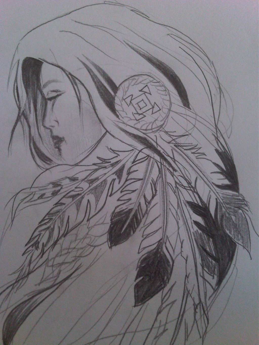 drawing native american - Google Search | Art/Drawing ...
