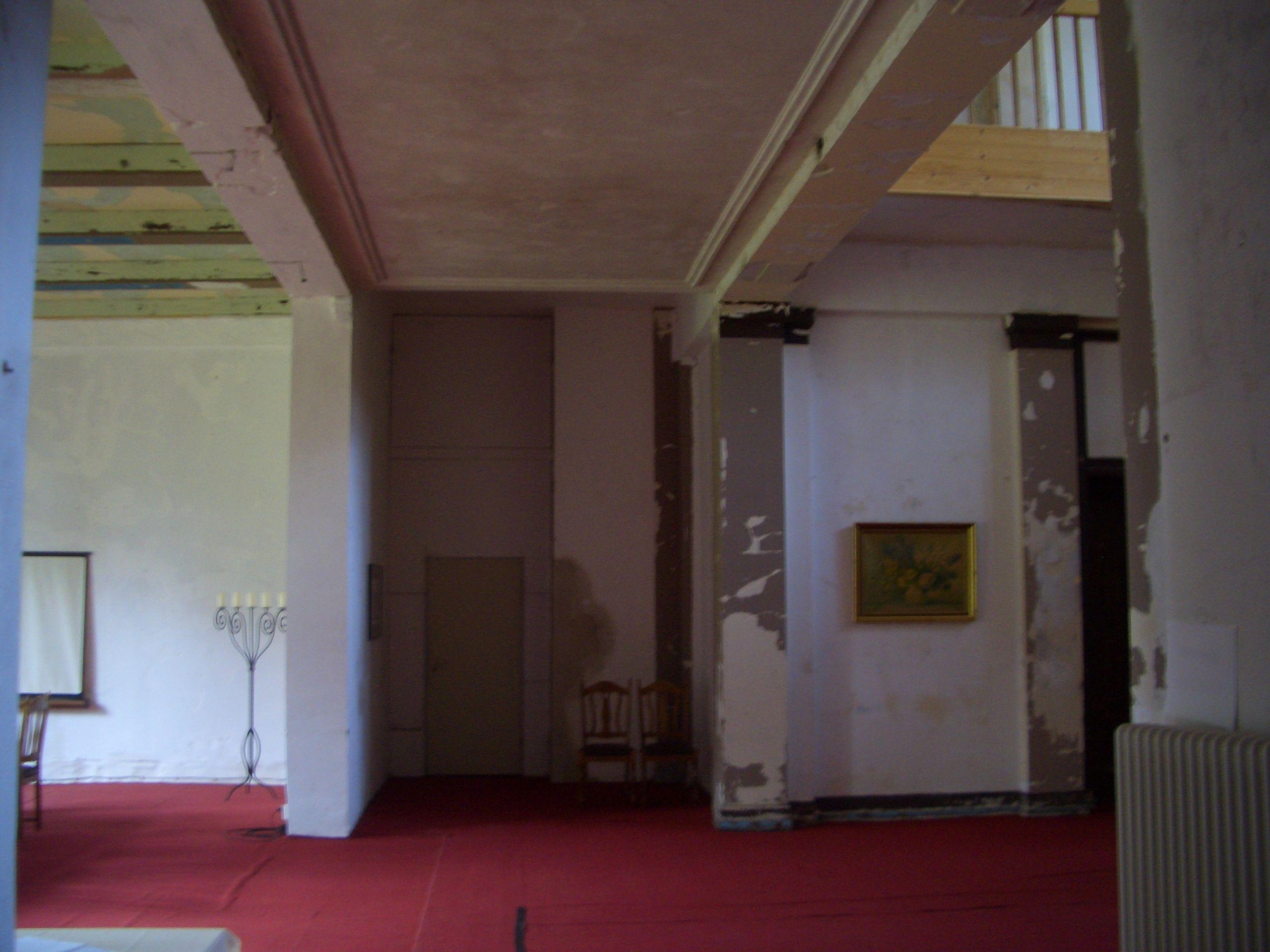 Halle im Erdgeschoss. Schloss Börnicke um 2010.   Ideas to Explore ...