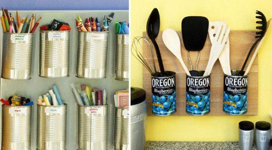 artesanato com lata de atum - Pesquisa Google