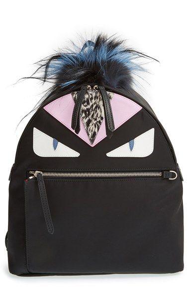 9ab6d739f9 Fendi  Monster  Nylon Backpack available at  Nordstrom