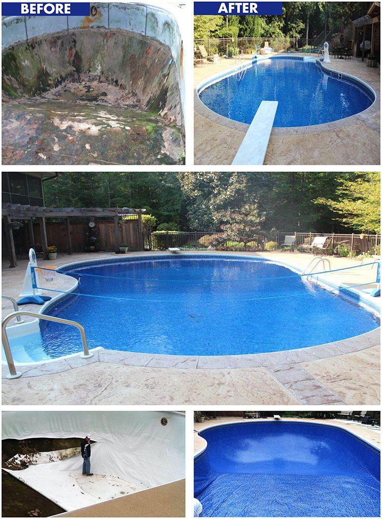 Fresh Splash Pool Service Visit Http Www Freshsplashpools Com For More Information About Spring Opening Fall Closing Servi Pool Vinyl Pool Splash Pool