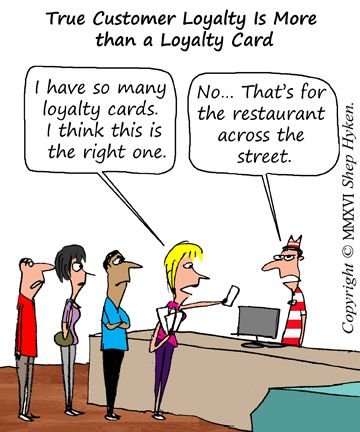 Five Ways to Create Customer Loyalty | Business Cartoons and