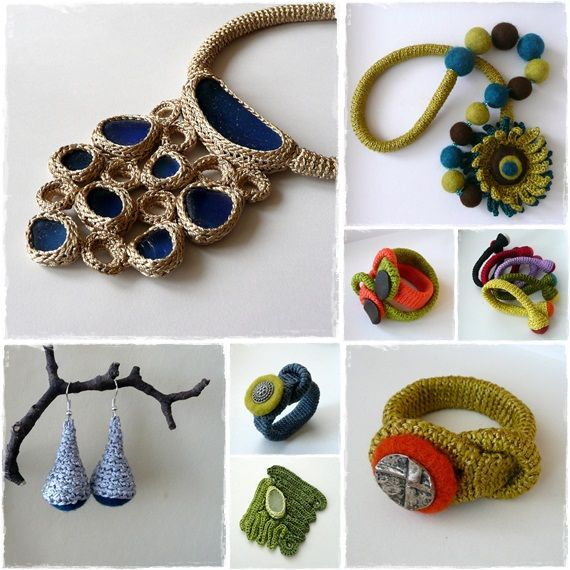 Beautiful Crochet Jewelry! - inspiration | jewrly | Pinterest ...