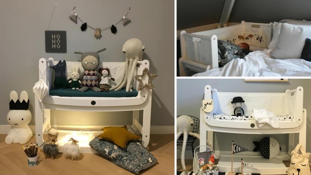 Erfahrungen Mit Dem Snuzpod Beistellbett Praxistest Und Gastbeitrag Kidswoodlove Beistellbett Beistellbett Baby Bett