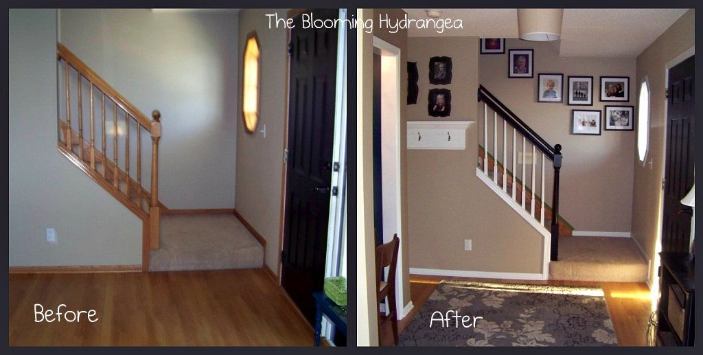 Great Way To Make Your Home Look More Modern Painting Over Stained Wood