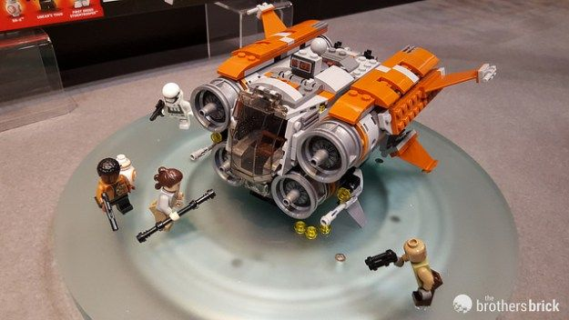 Summer & Fall 2017 LEGO Star Wars sets unveiled at New York Toy ...