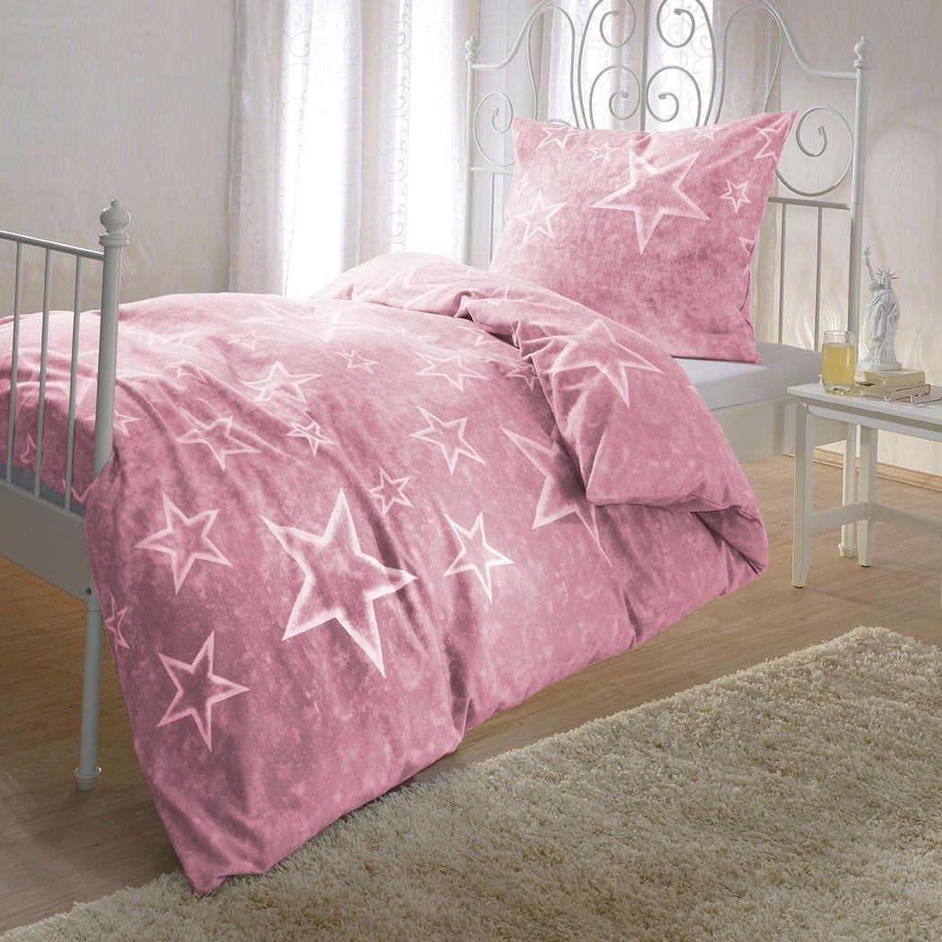 Sterne Bettwäsche Rosenquarz Online Kaufen Bettwäsche