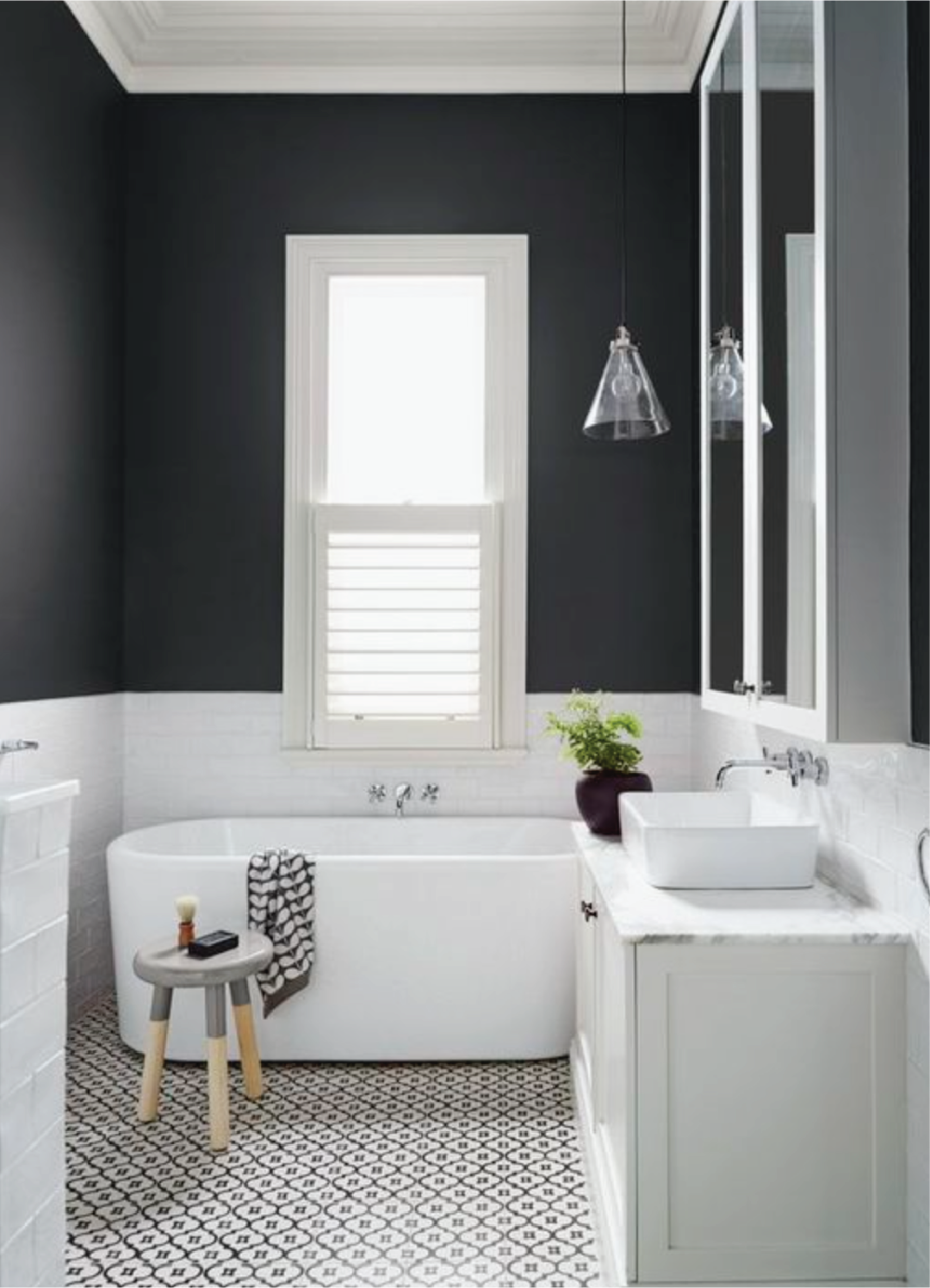 Color Block Bathroom Sample Dipt White Bathroom Designs Small
