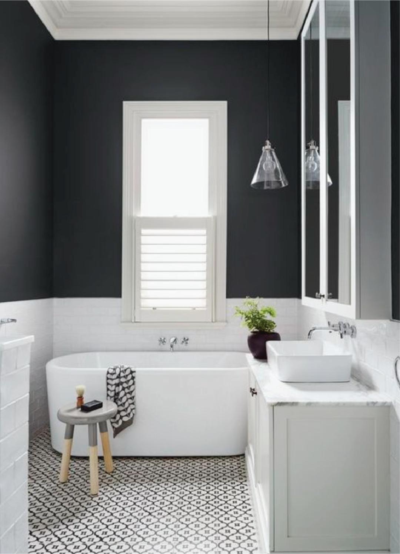 Color Block Bathroom Sample Dipt White Bathroom Designs Small