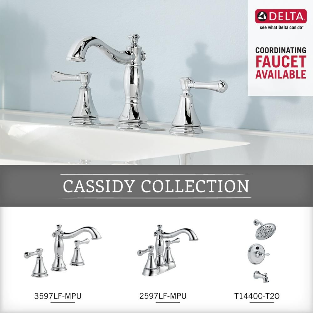 Delta Cassidy Single Post Toilet Paper Holder In Chrome Grey