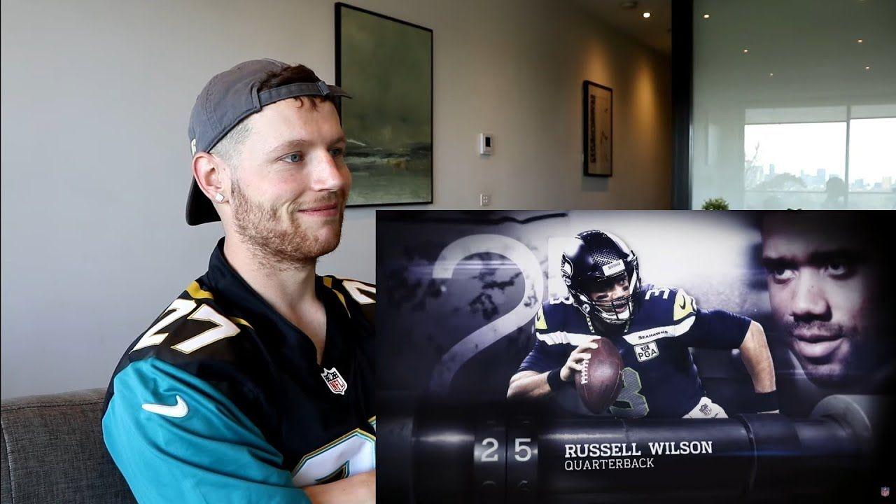 Rugby Player Reacts to RUSSELL WILSON (QB, Seahawks) The NFL's Top 100 Players of 2019! -