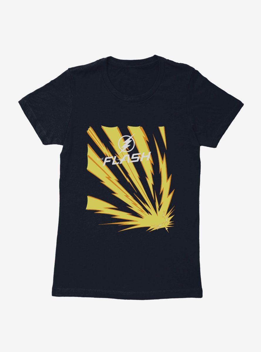 DC Comics The Flash Lightning Bolt Womens T-Shirt