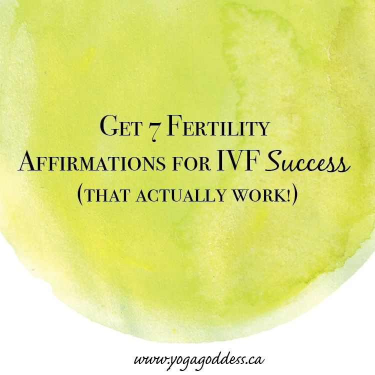 how to work in ivf