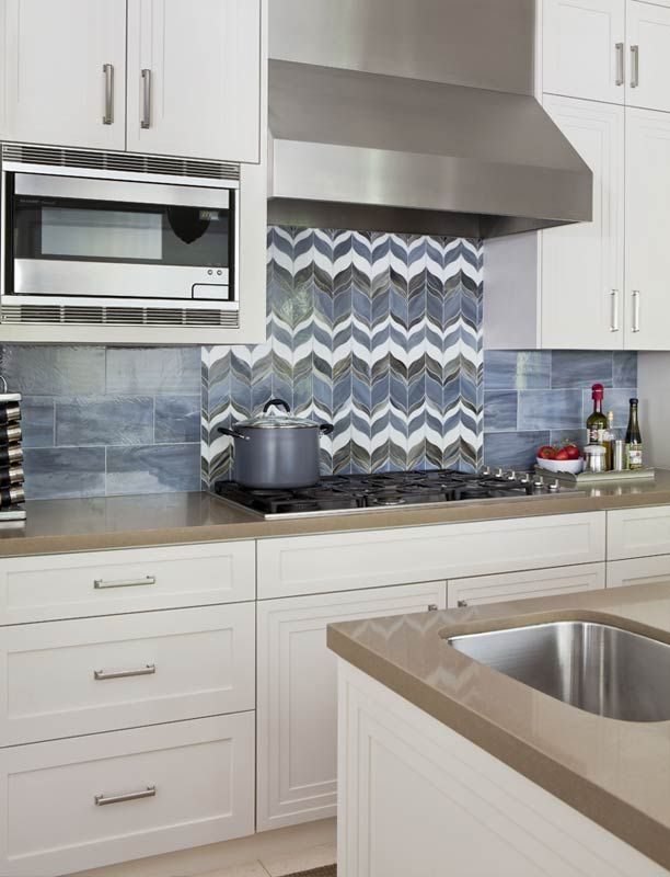 Marvelous Custom Plush Home Kitchen, Featuring Gorgeous ANN SACKS Tile Selections For  The Backsplash.