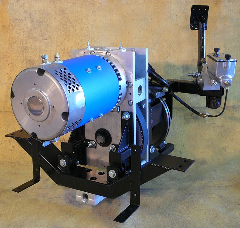 Model T Electric Drive Train Assembly | Electric cars | Pinterest ... | Best image of how to drive electric car and flying car