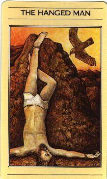 Prometheus Mythic Hanged Man Tarot The Hanged Man Tarot