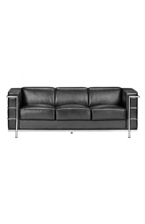 900230 Fortress Sofa Black Http Zuomod Index