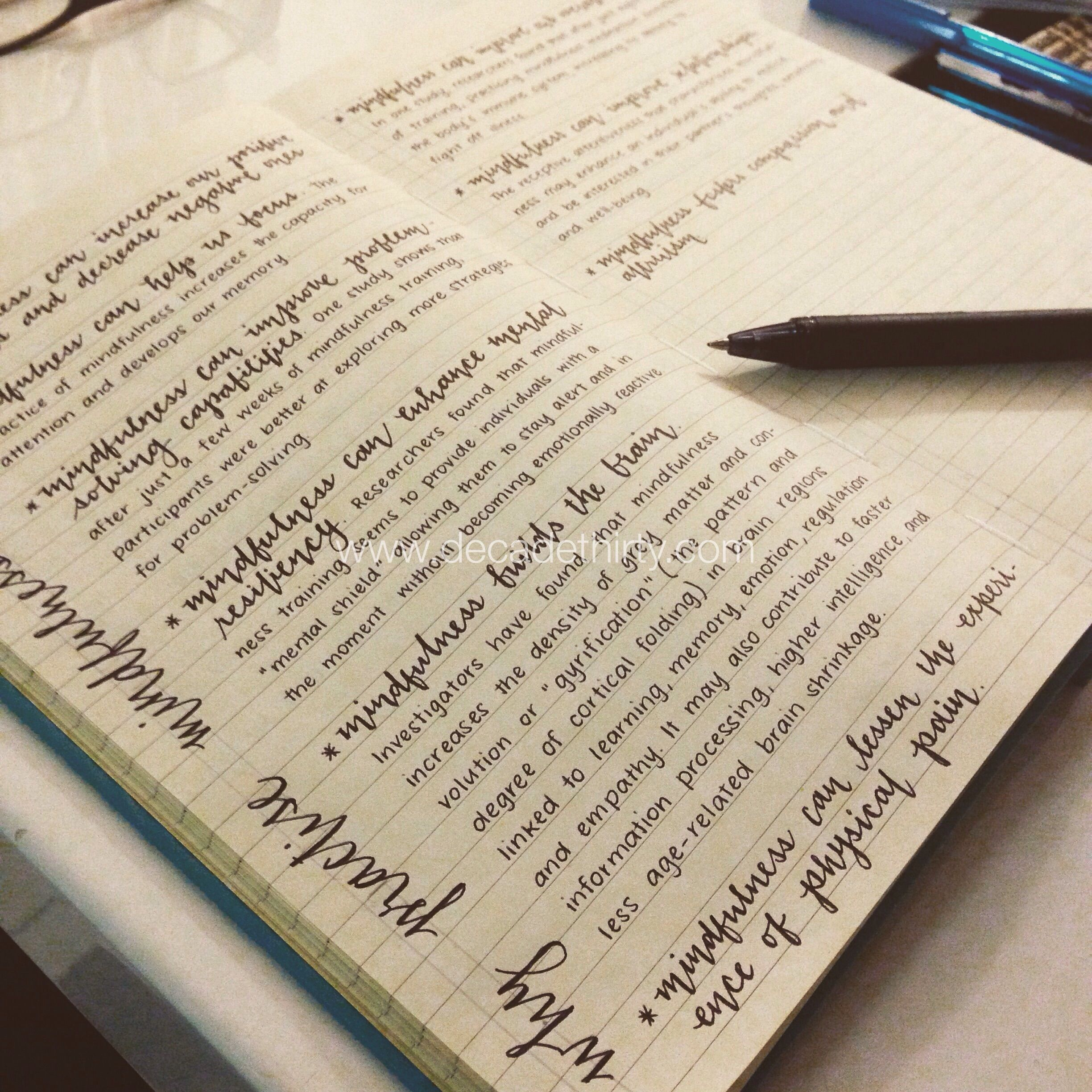 Neat. I like the journaling / neat ideas pages :)