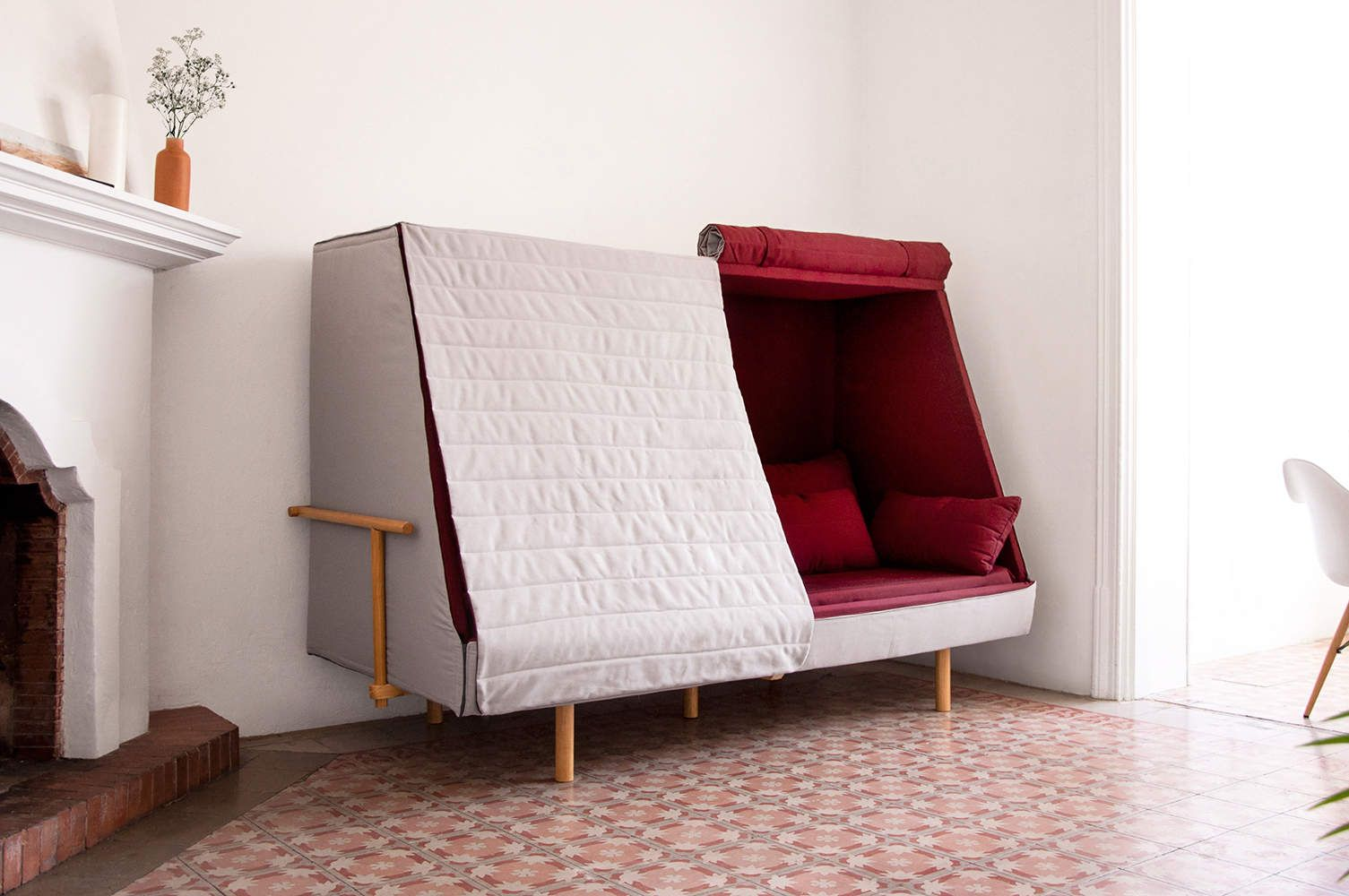This Couch Turns Into A Fort In Under 2 Seconds Cabin
