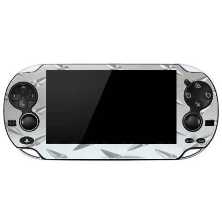 Reflective Diamond Plate Playstation Vita Vinyl Decal