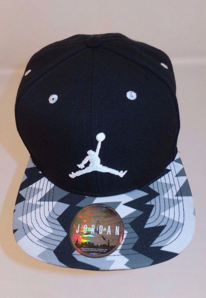 eea5ed9ca1c Nike Air Jordan Jumpman VII 7 Retro Sneaker Snapback Cap Hat Black VG+ Free  Ship  Nike  BaseballCap