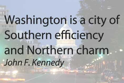 Washington Is A City Of Southern Efficiency And Northern Charm