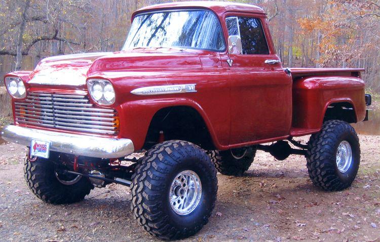 1958 Chevy Apache Truck 4x4 Maintenance Restoration Of Old Vintage
