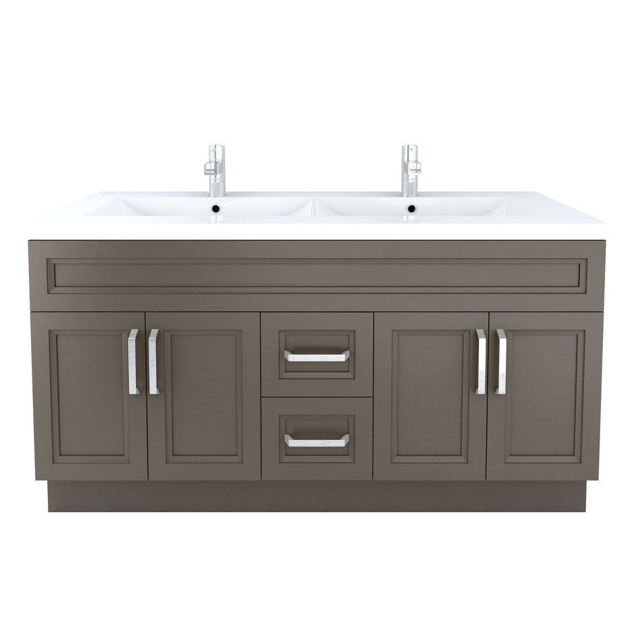 Shop Cutler Kitchen Amp Bath Cutler Kitchen Amp Bath Urban 60 In X 22 In Contem With Images Cheap Bathroom Vanities Contemporary Bathroom Vanity Modern Bathroom Vanity