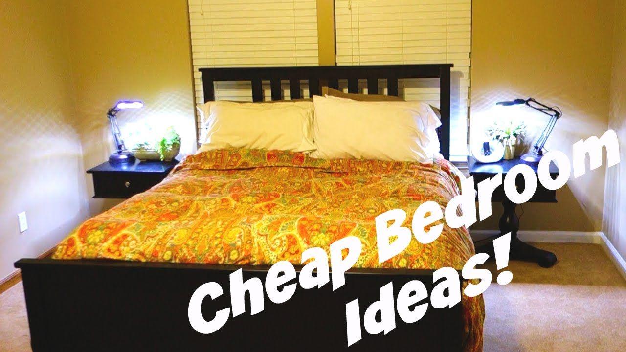 Cheap Decorating Ideas For Bedrooms Mit Bildern Wohungsdekoration Einrichtungsideen Schlafzimmer Schlafzimmer Design