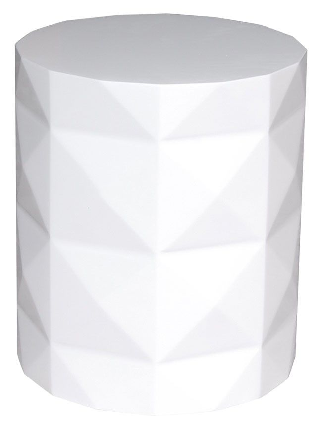 White Side Tables dipoli white side table- comes in white & black | side, coffee