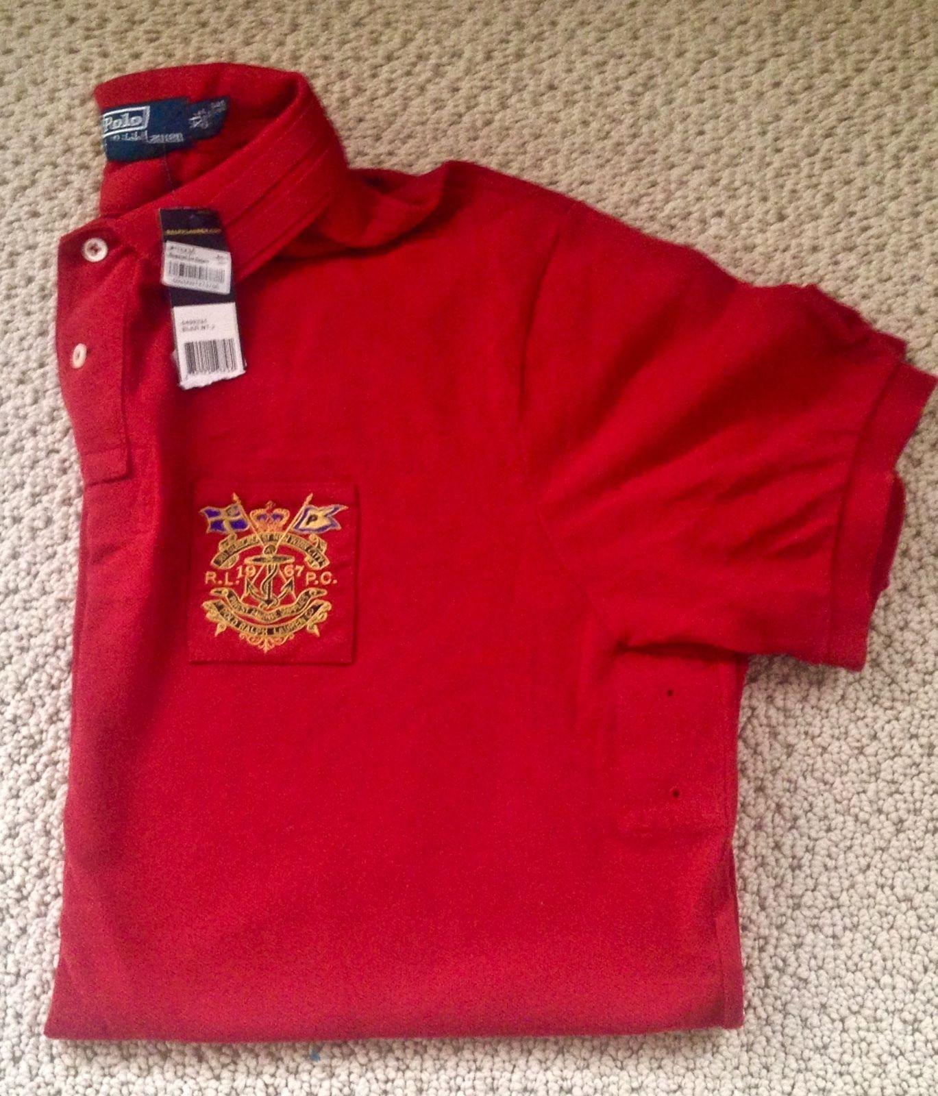 New Mens XL Polo Ralph Lauren shirt Finest Marine Supplies Bleecker st New York https://t.co/SKX1a2H75b https://t.co/heh3s0Lusm