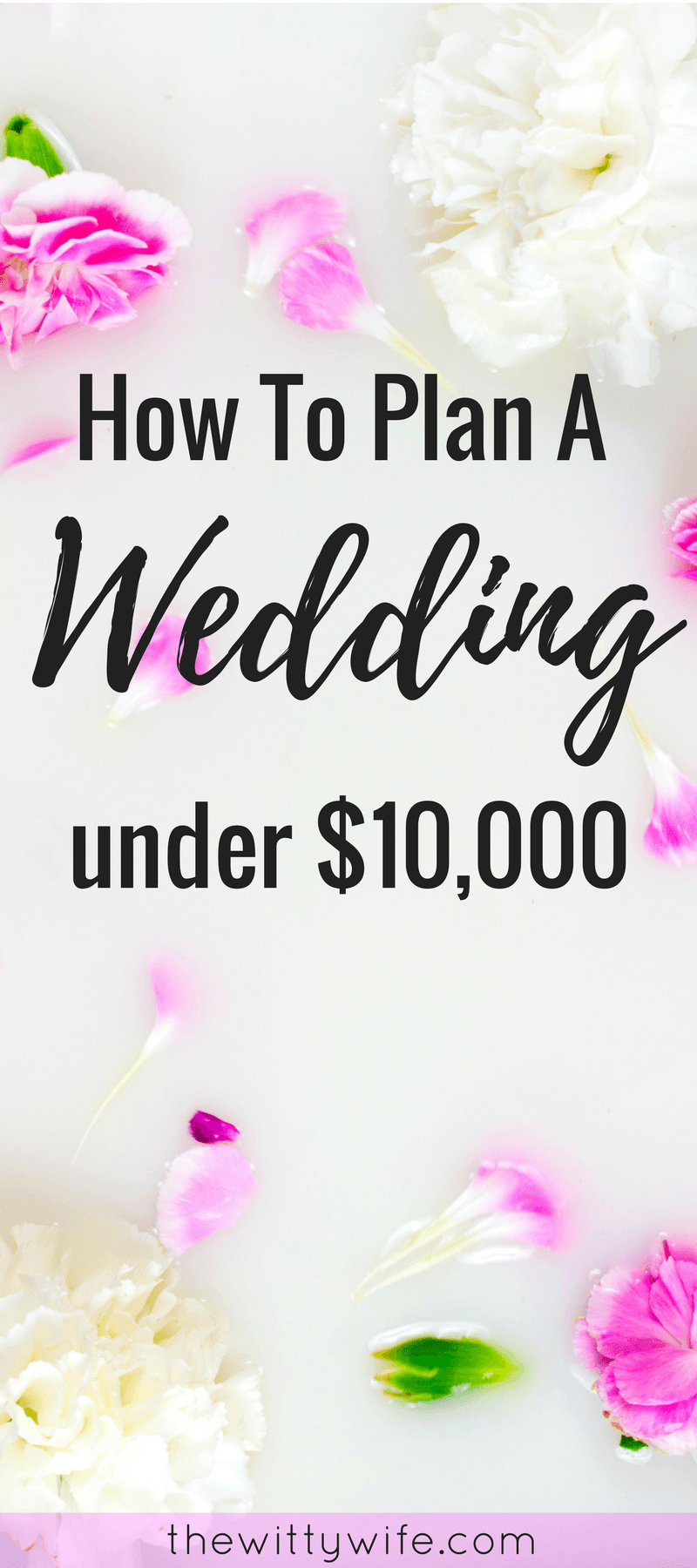 Plan An Amazing Wedding Under 10 000