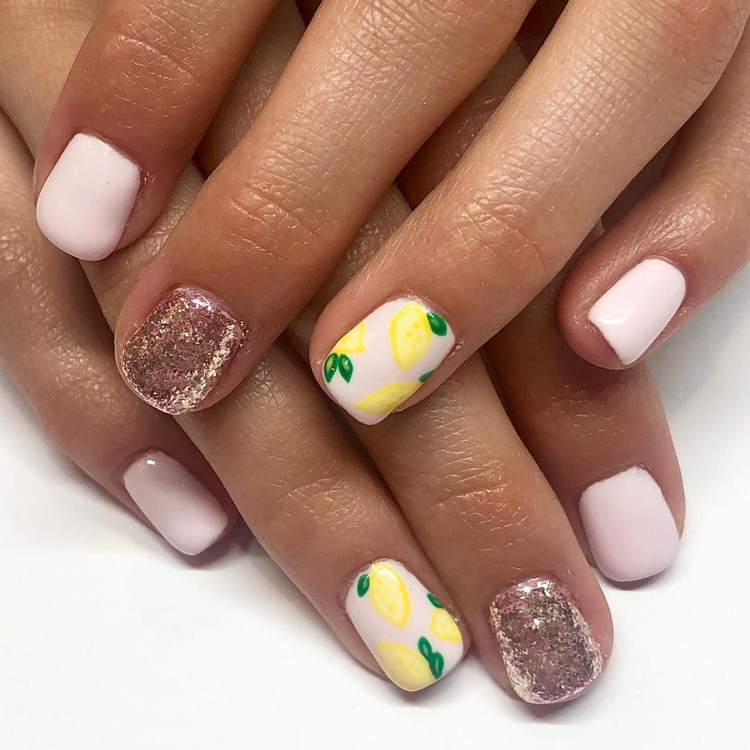 Seriously Adorable On This Seriously Adorable 12 Year Old You Can Be Jealous Of Her Nail Beds Isaacfamilyseven Gels Cute Acrylic Nails Nails Cute Nails