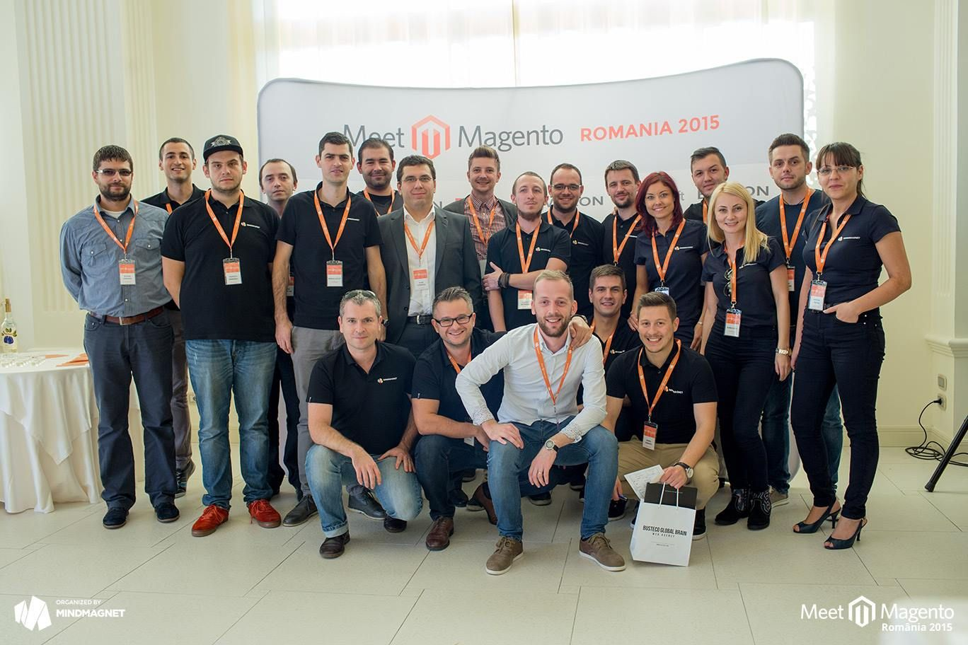 local organizer team of Meet Magento Romania 2015 #mm15ro