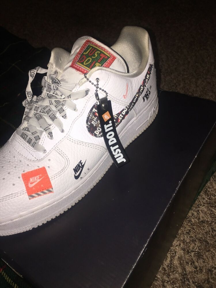 Ds Nike Air Force 1 Jdi Just Do It White Size 10 5 Comes With The