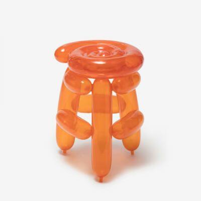 Orange Blowing Stool 1